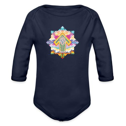 decorative - Organic Longsleeve Baby Bodysuit