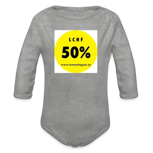 knapp 50 3 - Ekologisk långärmad babybody