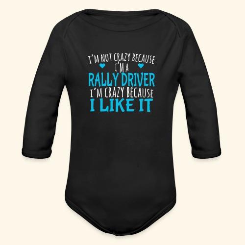 RALLY - Body ecologico per neonato a manica lunga