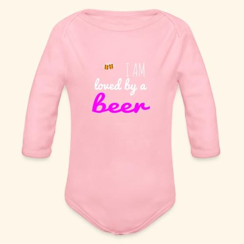 Birra Beer - Body ecologico per neonato a manica lunga