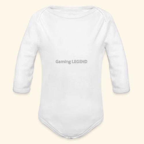 Gaming LEGEND - Baby bio-rompertje met lange mouwen