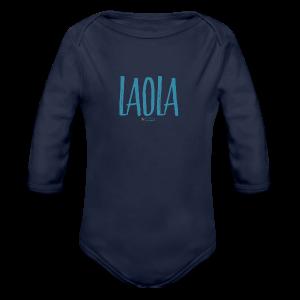 ola - Body orgánico de manga larga para bebé