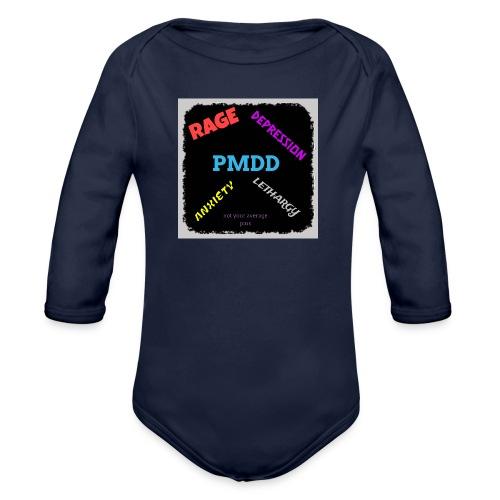 Pmdd symptoms - Organic Longsleeve Baby Bodysuit