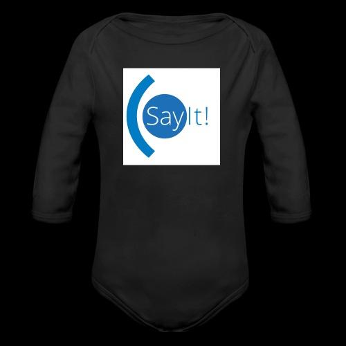 Sayit! - Organic Longsleeve Baby Bodysuit