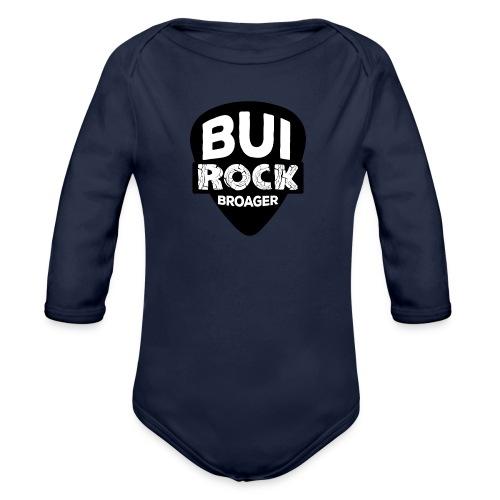 BUI ROCK - Langærmet babybody, økologisk bomuld