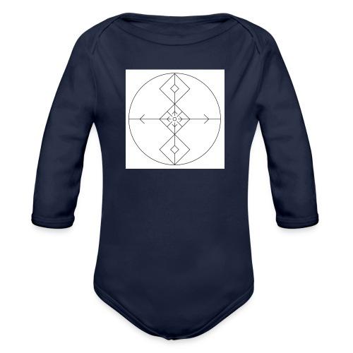 I release family karma now. - Økologisk langermet baby-body