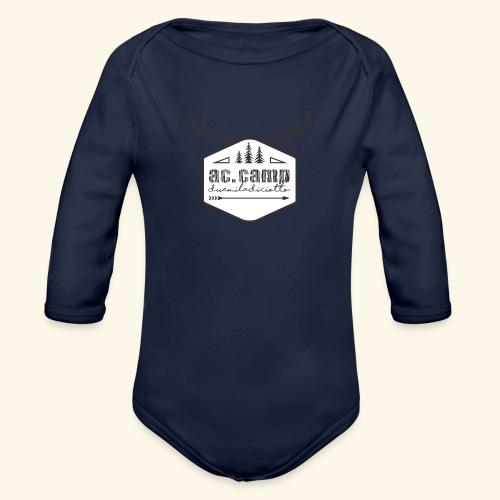 ac camp - Body ecologico per neonato a manica lunga