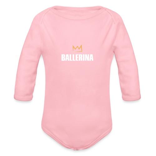 Ballerina - Baby Bio-Langarm-Body