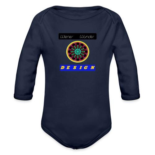 Wiener Wunder Design Logo #2 - Baby Bio-Langarm-Body