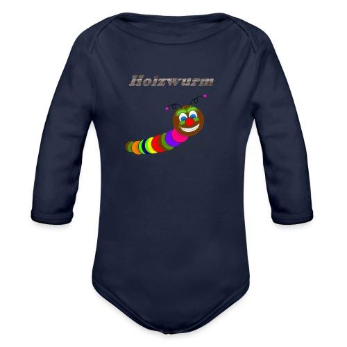 Holzwurm Design - Baby Bio-Langarm-Body