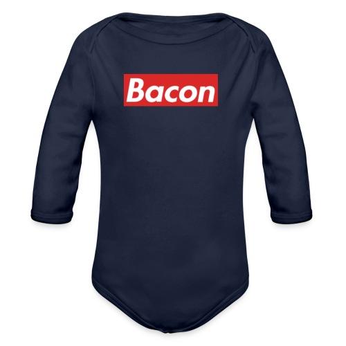 Bacon - Ekologisk långärmad babybody