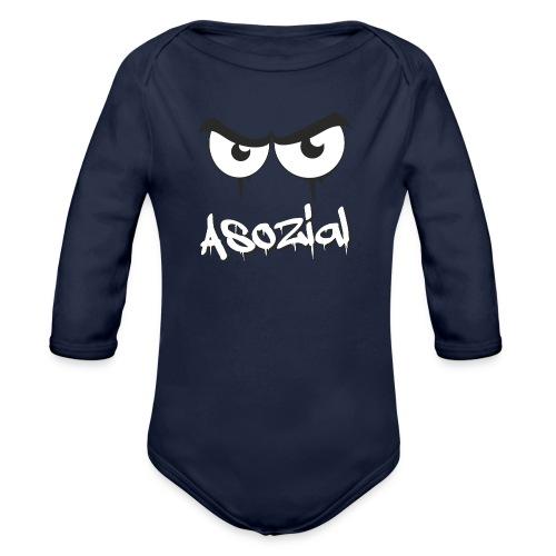 Asozial - Baby Bio-Langarm-Body