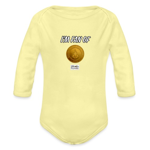 I'm fan of Eos - Body ecologico per neonato a manica lunga