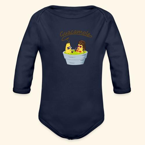 Guacamole - Body orgánico de manga larga para bebé