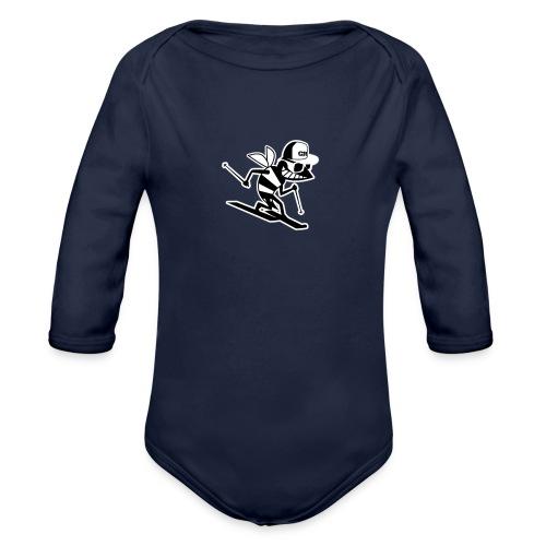 tee shirt GPfat1 - Body Bébé bio manches longues
