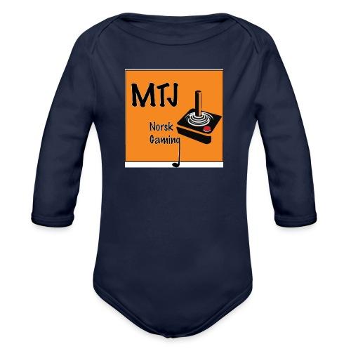 Mtj Logo - Økologisk langermet baby-body