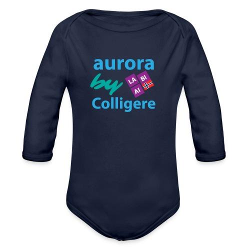 Aurora by Colligere - Økologisk langermet baby-body