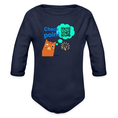Duna Checkpoint - Økologisk langermet baby-body