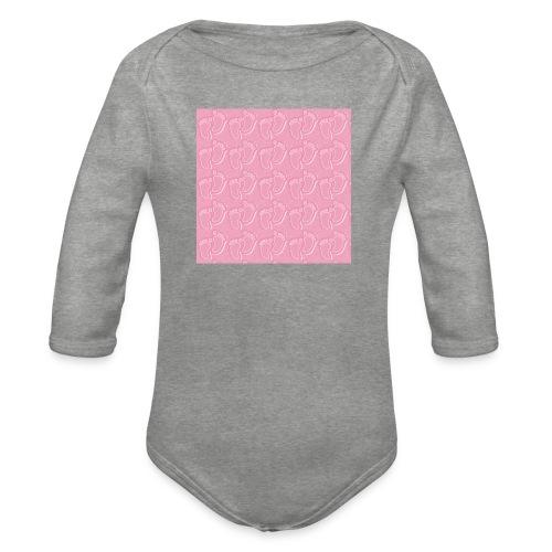 kidfootprint a14 - Organic Longsleeve Baby Bodysuit