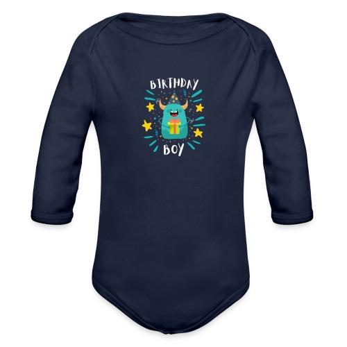 Birthday Boy - Baby Bio-Langarm-Body