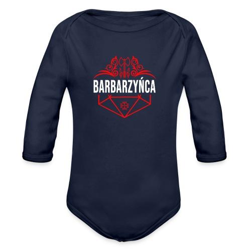 Klasa: barbarzyńca - Ekologiczne body niemowlęce z długim rękawem
