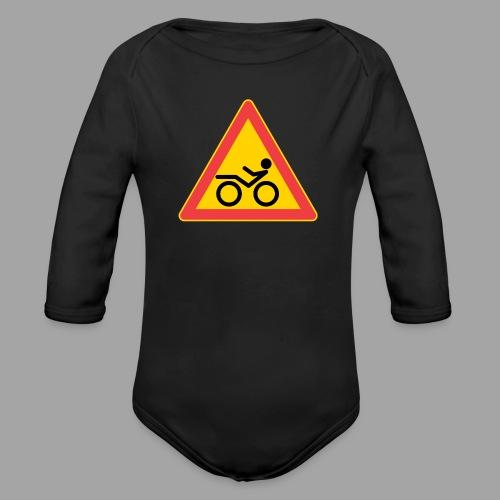 Traffic sign Recumbent - Vauvan pitkähihainen luomu-body