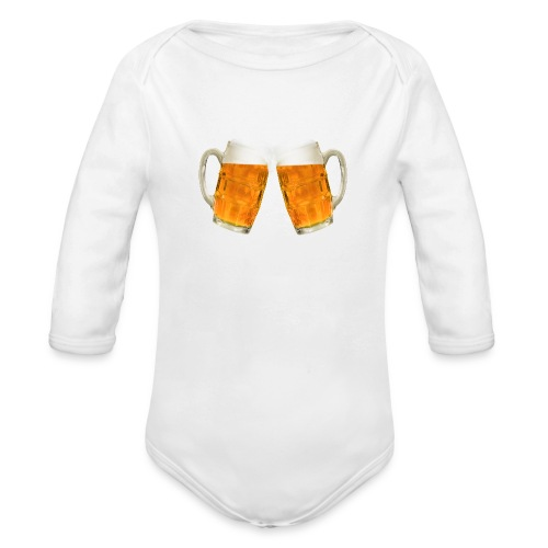 Zwei Bier - Baby Bio-Langarm-Body