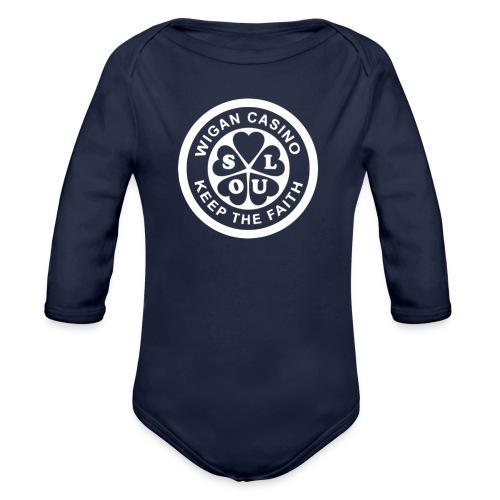 Wigan Casino - Organic Longsleeve Baby Bodysuit