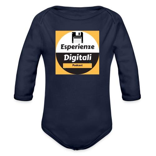 Logo Esperienze Digitali - Body ecologico per neonato a manica lunga