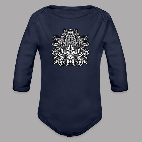 soulmate black - Organic Longsleeve Baby Bodysuit