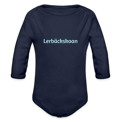Lerbäckskolan - Ekologisk långärmad babybody