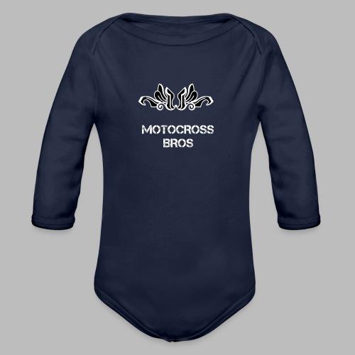 Motocrossbros - Ekologisk långärmad babybody