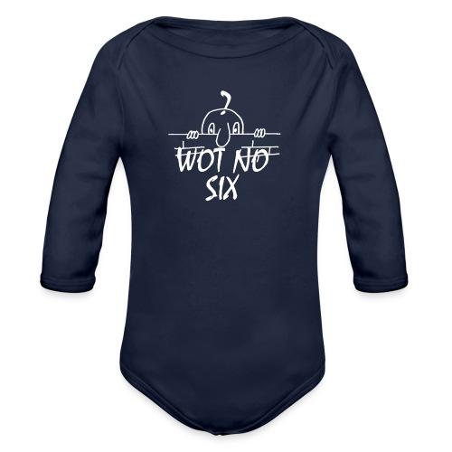 WOT NO SIX - Organic Longsleeve Baby Bodysuit