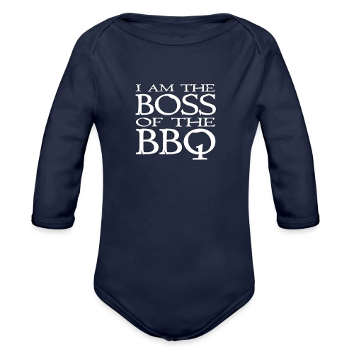 I am the Boss of the BBQ - der Chef am Grill - Baby Bio-Langarm-Body