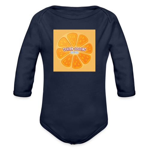 orangetextur - Baby Bio-Langarm-Body