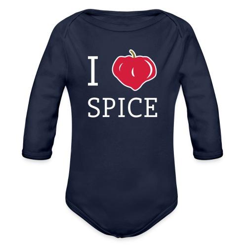i_love_spice-eps - Vauvan pitkähihainen luomu-body