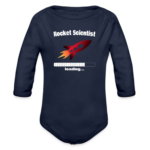Rocket Scientist loading... Baby Motiv - Baby Bio-Langarm-Body