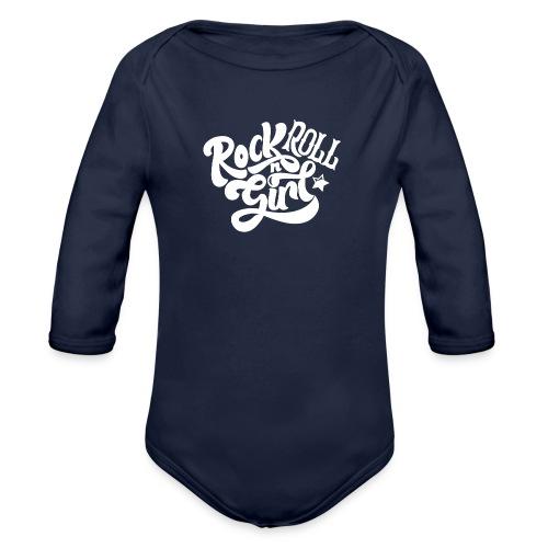 Rock n Roll Girl - Vauvan pitkähihainen luomu-body