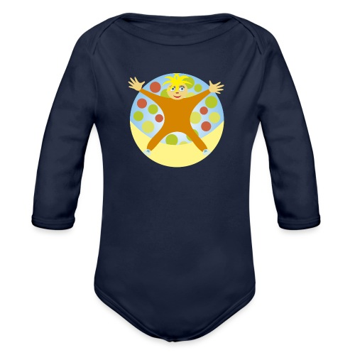 NINO_estrella - Body orgánico de manga larga para bebé