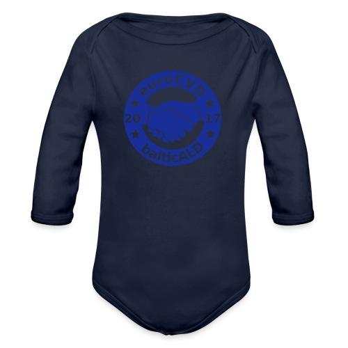 Joint EuroCVD-BalticALD conference womens t-shirt - Organic Longsleeve Baby Bodysuit