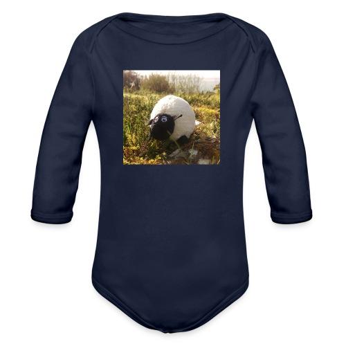 Sheep in Ireland - Baby Bio-Langarm-Body