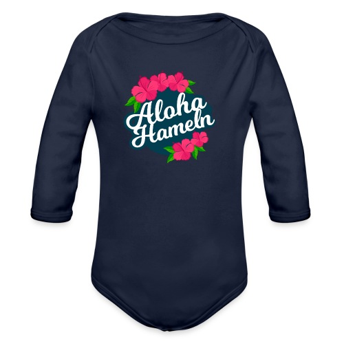 Aloha Hameln | Hawaii SunShine | - Baby Bio-Langarm-Body