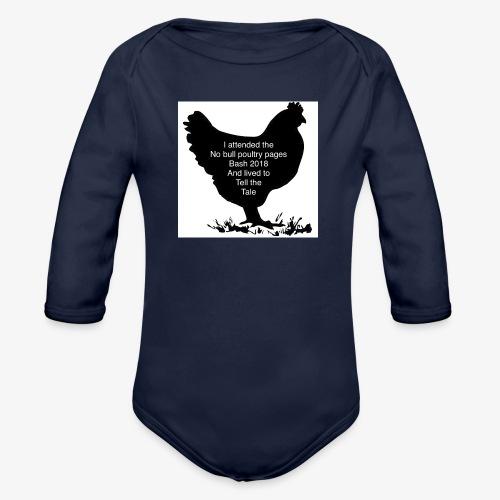 2DE2ADD8 8397 41E2 B462 85931C4D203C - Organic Longsleeve Baby Bodysuit