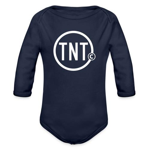 TNT-circle - Baby bio-rompertje met lange mouwen