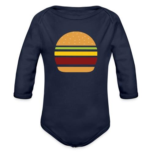 Logo Burger Panhamburger - Body Bébé bio manches longues