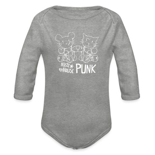 MIEZEMOUSE PUNK GIRLS - Baby Bio-Langarm-Body