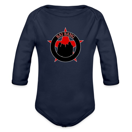 ryggtavla2 - Organic Longsleeve Baby Bodysuit