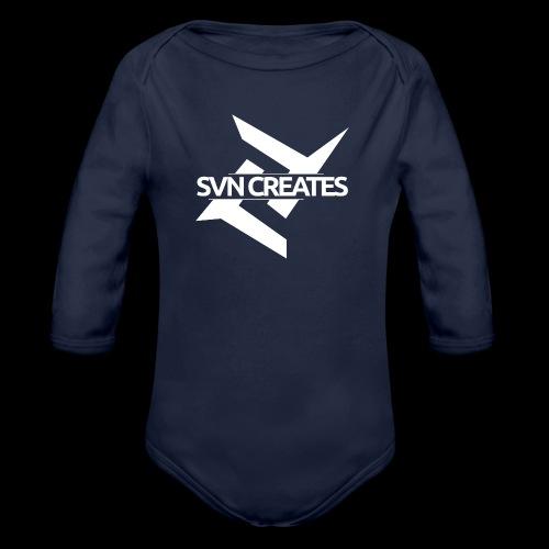 SVN Shirt logo 1 png - Baby bio-rompertje met lange mouwen