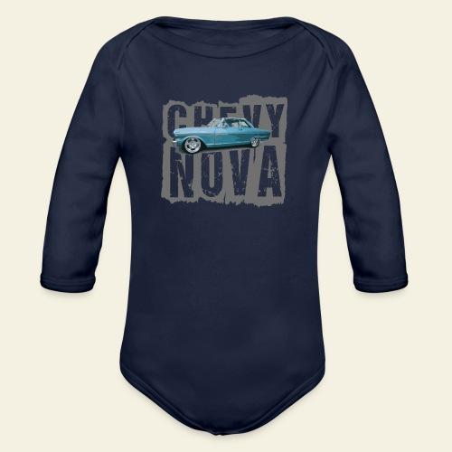 nova - Langærmet babybody, økologisk bomuld