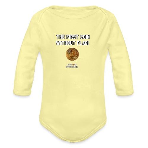 Coin with no flag - Body ecologico per neonato a manica lunga